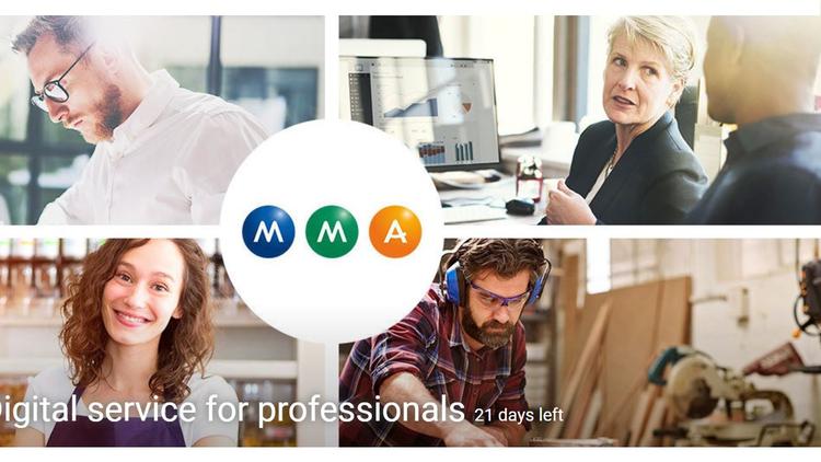 MMA – Digital service for professionals