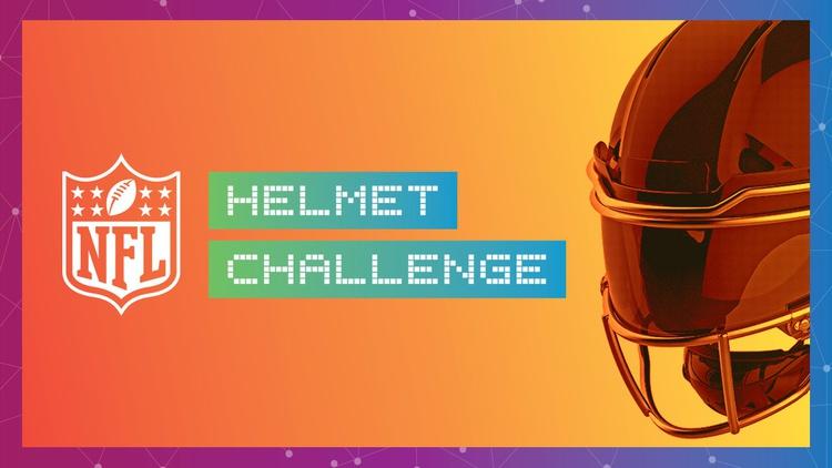 NFL Helmet Challenge