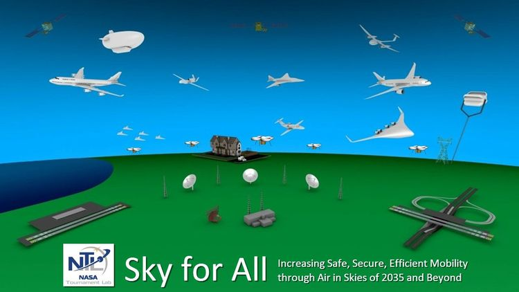 Sky for All: Air Mobility for 2035 and Beyond