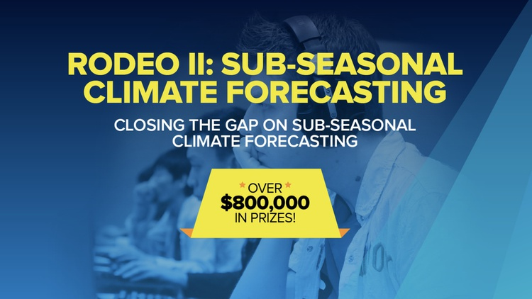 Rodeo II: Sub-Seasonal Climate Forecasting