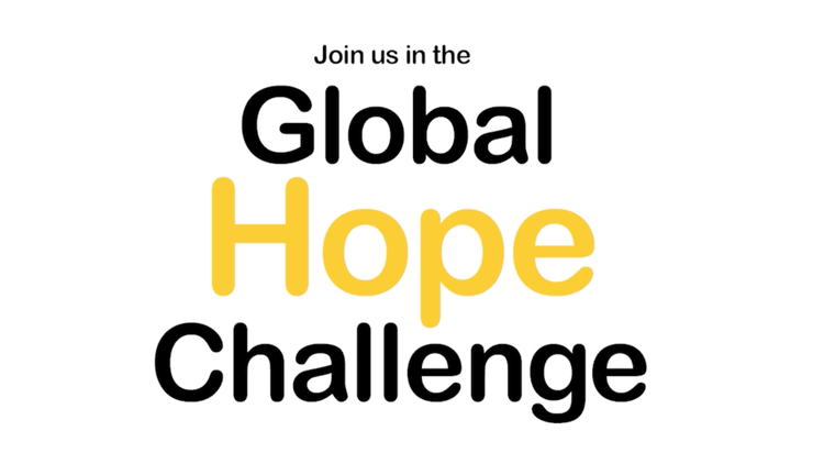 Global Hope Challenge: #OneThing for #Hope