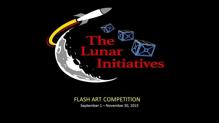 The Lunar Initiatives Flash Art Competition