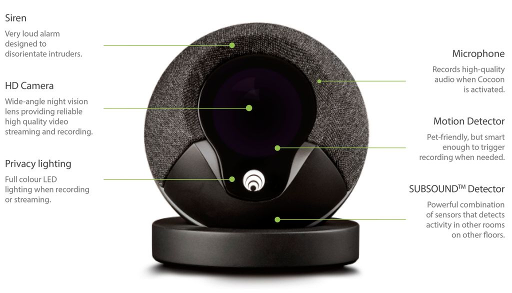 Smart Home Security: The Cocoon Infrasonic Device