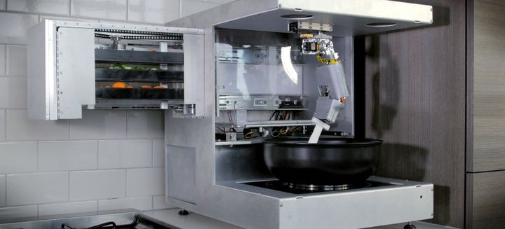 Robot Chefs And Automated Kitchens